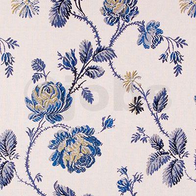 1700-tals rosor (blå)
