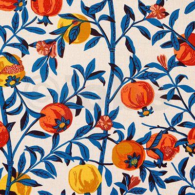 Granatäpple (natur/turkos)