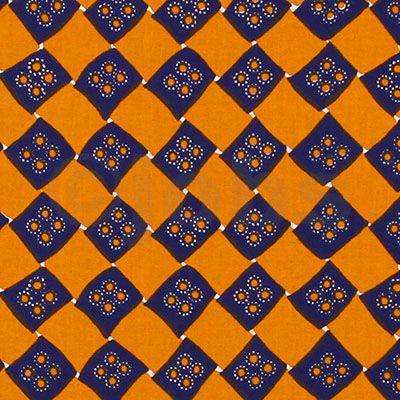 Korgfläta (blå/gul)