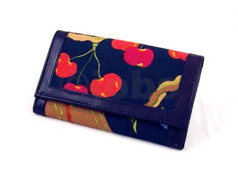 Plånbok Fruktträd (svart)