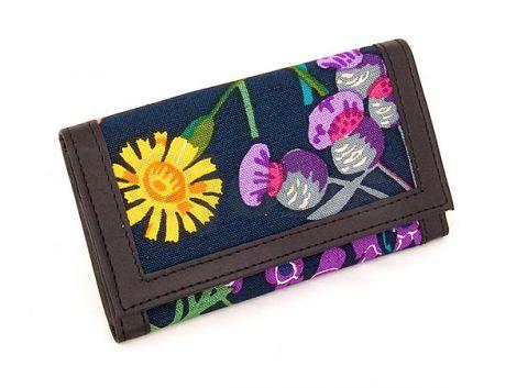 Plånbok Rabarber (grön/svart)