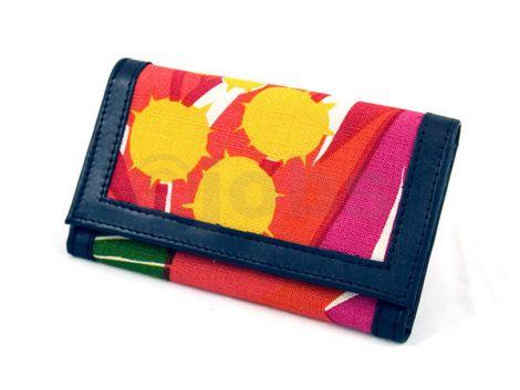 Plånbok Tistlar (röd)