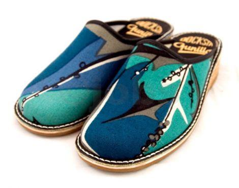 Slippers Tistlar (blå)