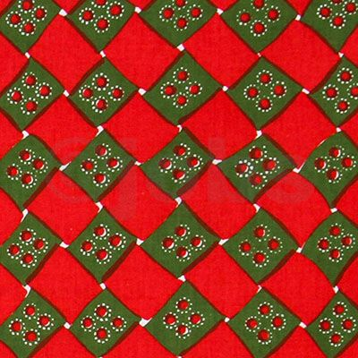 Korgfläta (grön/röd)