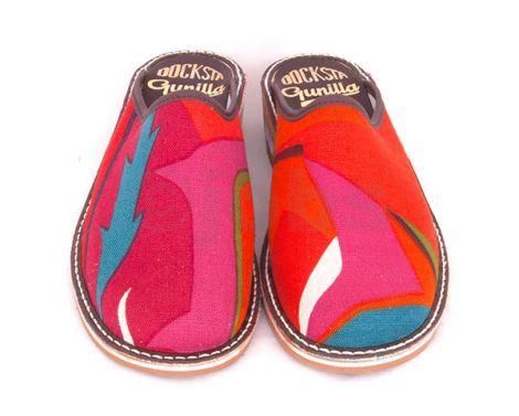 Slippers Tistlar (röd)